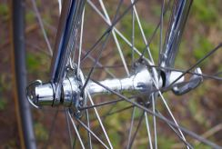 Campagnolo Record front hub and quick release