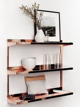 New Tendency copper shelf