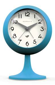 The Dome alarm clock in aqua blue by Newgate Clocks, £25