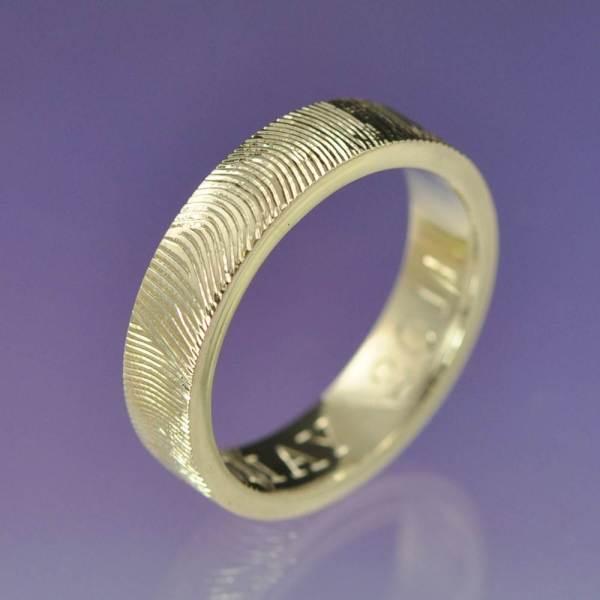 Personalised Fingerprint Ring by chrisparry