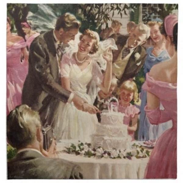 vintage_wedding_bride_groom_newlyweds_cut_cake_napkin-r2f97823f53fd408bb58e39e807564398_2cf00_8byvr_512