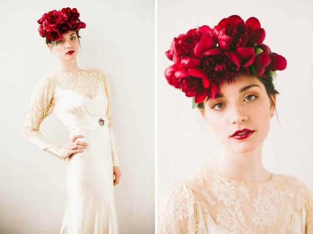 story of my dress vintage wedding dress at the National Vintage Wedding Fair