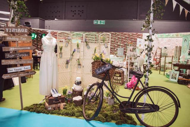 Manchester Event City Vintage Wedding Village curated by The National Vintage Wedding Fair