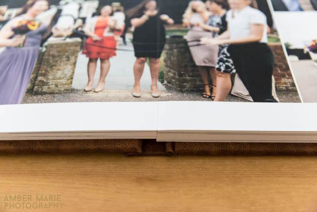 Do you need to order a wedding photo album of your wedding photos by Amber Marie Photography