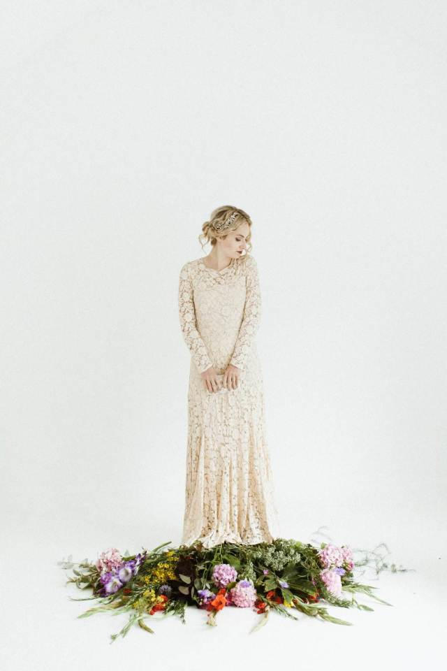 50 years of vintage wedding dresses photos by Claire Macintyre 1930s