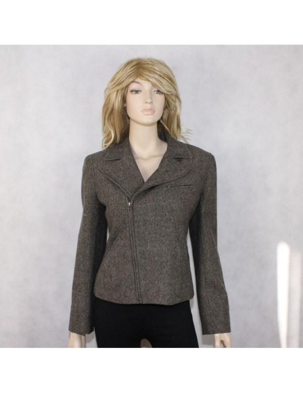 RALPH LAUREN womens 100% WOOL ramones jacket (10 ...