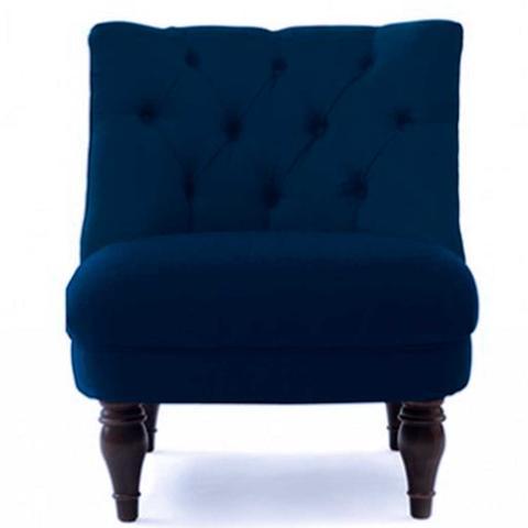 Navy Blue Anna Chair
