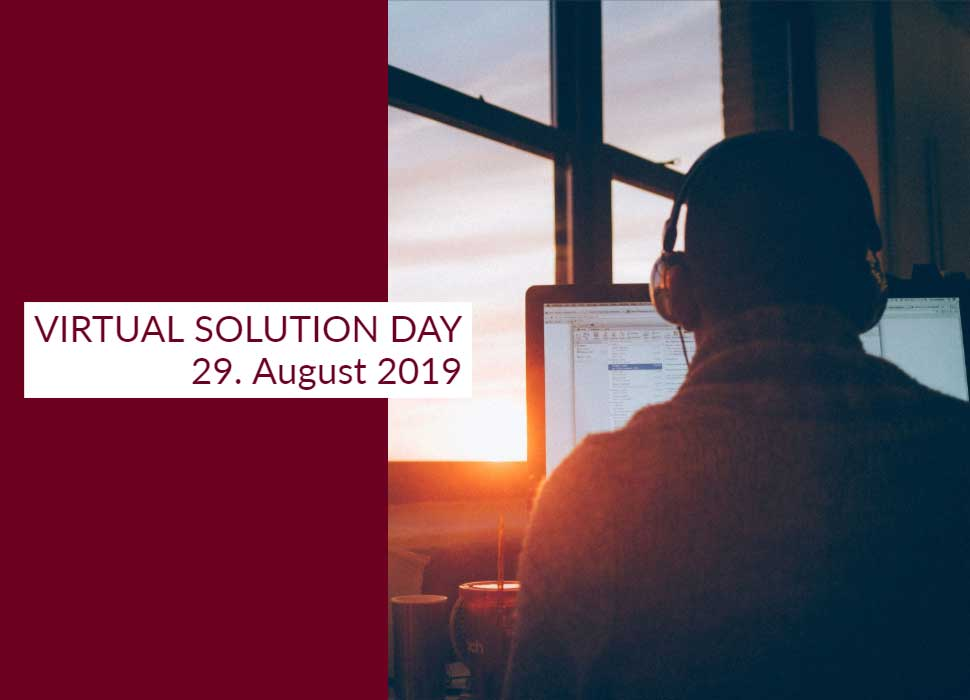 VIRTUAL SOLUTION DAY 29. August 2019