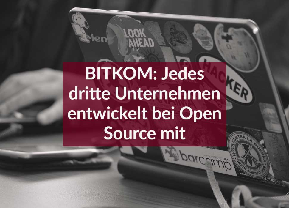 BITKOM: Jedes dritte Unternehmen entwickelt bei Open Source mit