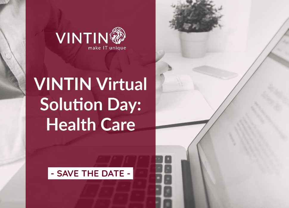 SAVE THE DATE: VINTIN Virtual Solution Day: Health Care