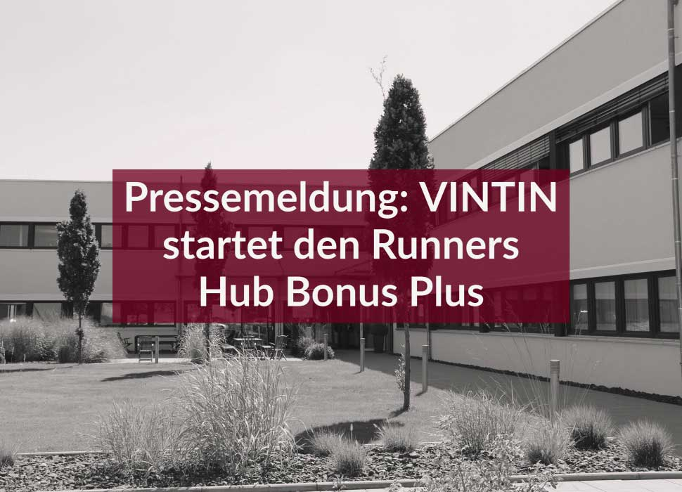 Pressemeldung: VINTIN startet den Runners Hub Bonus Plus