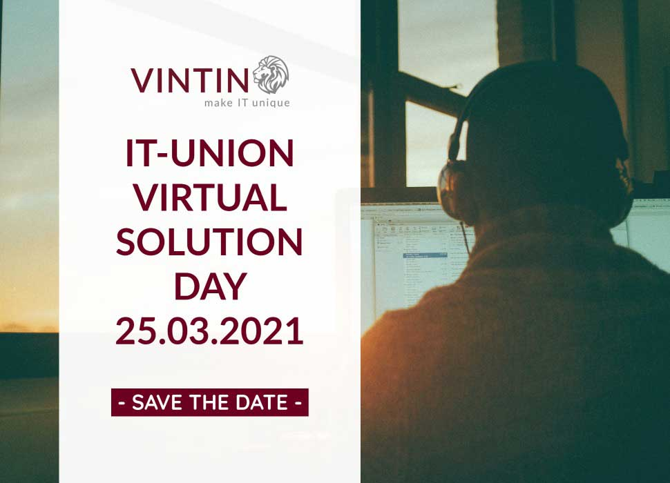 Der IT-Union Virtual Solution Day 2021 am 25.03.