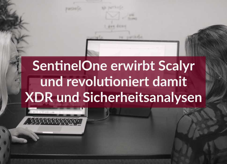 SentinelOne erwirbt Scalyr und revolutioniert damit XDR und Sicherheitsanalysen