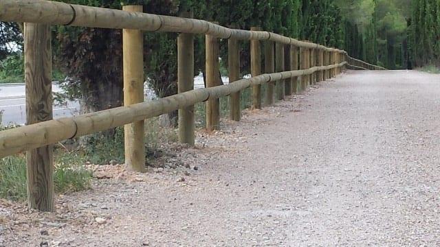 Vinuesa vallas cercados cercado rural valla tejana de - Cercado de madera ...