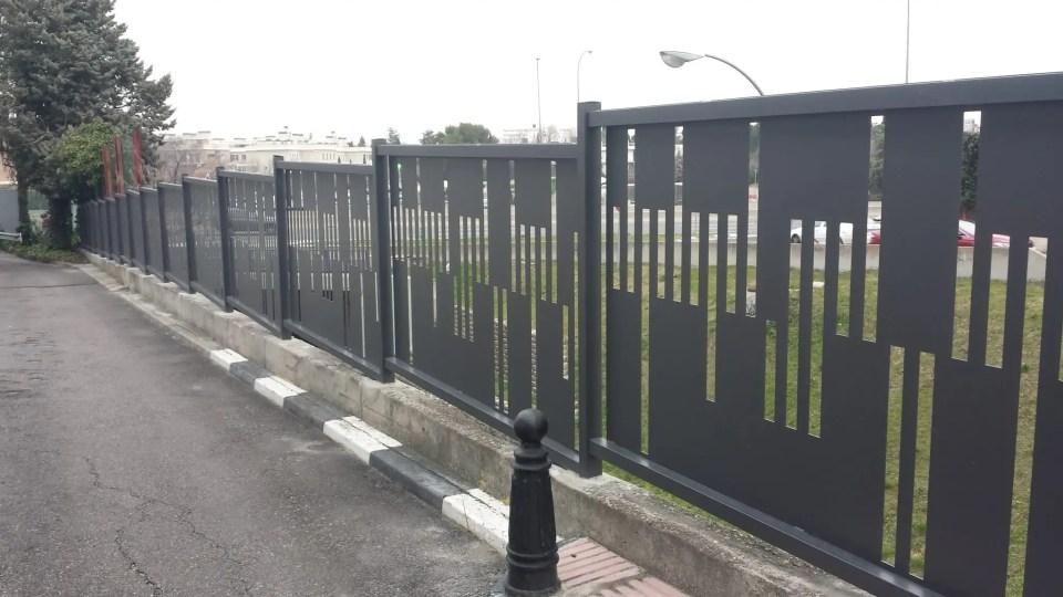 Vinuesa vallas cercados modelos verjas residenciales de - Chapa de hierro ...