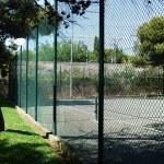 Cercado pista de tenis