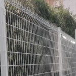 Verja residencial malla plegada brico
