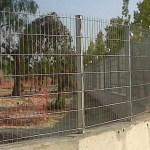 Verja residencial industrial de DOBLE HILO 6/5/6 galva