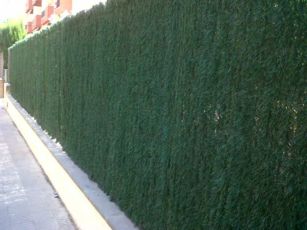 Vinuesa vallas cercados montaje vallas ocultaci n que no - Vallas jardin pvc ...