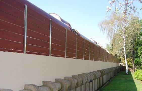 Vinuesa vallas cercados valla ocultacion compacto - Vallas para parcelas ...