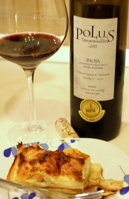 Tempranillo and lasagna