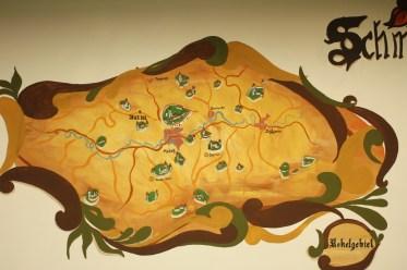 harta pe perete