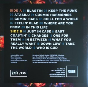 Travelin - Cover Back