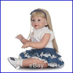 28 Real Doll Reborn Toddler Big Girl Realistic Reborn Baby Dolls Handmade Cute