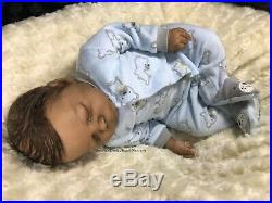 AA Ethnic Biracial Reborn Doll Realborn Kase Asleep Limited Edition #201/1500