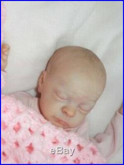 Beautiful Reborn doll baby girl Maia prem 16 limited edition