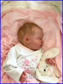 Charlotte reborn baby doll by Laura Eagles