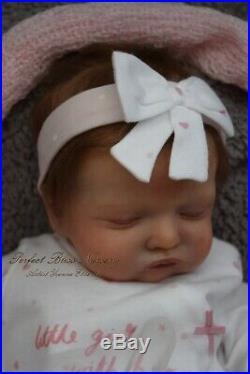 Pbn Yvonne Etheridge Reborn Baby Doll Girl Sculpt Rosalie By Olga Auer 0119