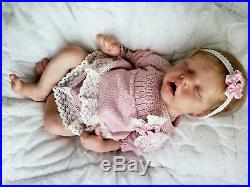 Reborn Baby Girl Twin A by Bonnie Brown first edition reborn doll Beautiful