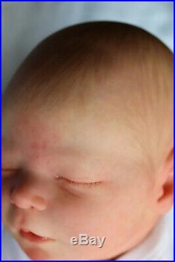 Reborn Doll Realborn Baby Darren /artist Of 9yrs Marie With Coa Textured Skin