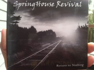 "The debut album from Springhouse Revival is called ""Return to Nothing."" (Photo by Mike Morsch)"