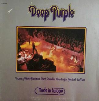 Deep Purple - Made In Europe (LP, Album, Gat)