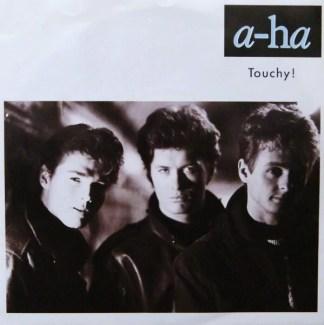 """a-ha - Touchy! (7"""")"""