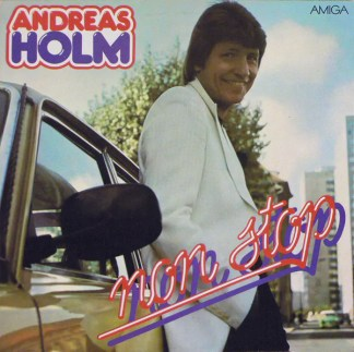 Andreas Holm - Non Stop (LP, Album, red)