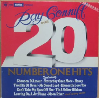 Ray Conniff - 20 Number One Hits (LP, Comp)