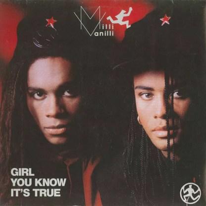 """Milli Vanilli - Girl You Know It's True (12"""", Maxi)"""
