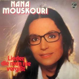 Nana Mouskouri - Lieder, Die Man Nie Vergißt (LP, Club)