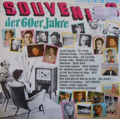 Various - Souvenirs Der 60er Jahre (LP, Comp)