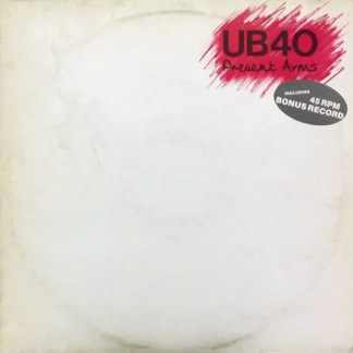 """UB40 - Present Arms (LP, Album + 7"""")"""