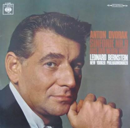 """Anton Dvorak* - Leonard Bernstein, New Yorker Philharmoniker* - Sinfonie Nr.9 """"Aus Der Neuen Welt"""" (LP)"""
