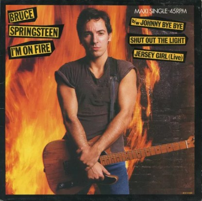 "Bruce Springsteen - I'm On Fire (12"", Maxi)"