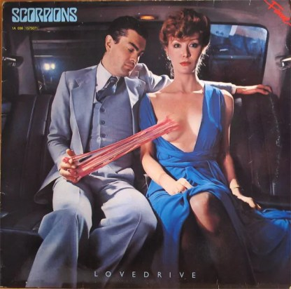 Scorpions - Lovedrive (LP, Album, RE)