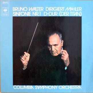 Bruno Walter, Columbia Symphony Orchestra, Mahler* - Sinfonie Nr.1 In D-Dur (Der Titan) (LP, Album, RE)
