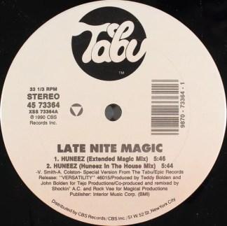 "Late Nite Magic* - Huneez (12"")"