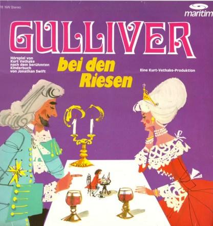 Jonathan Swift (2), Kurt Vethake - Gulliver Bei Den Riesen (LP, RE)