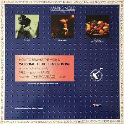 "Frankie Goes To Hollywood - Welcome To The Pleasuredome (12"", Maxi)"